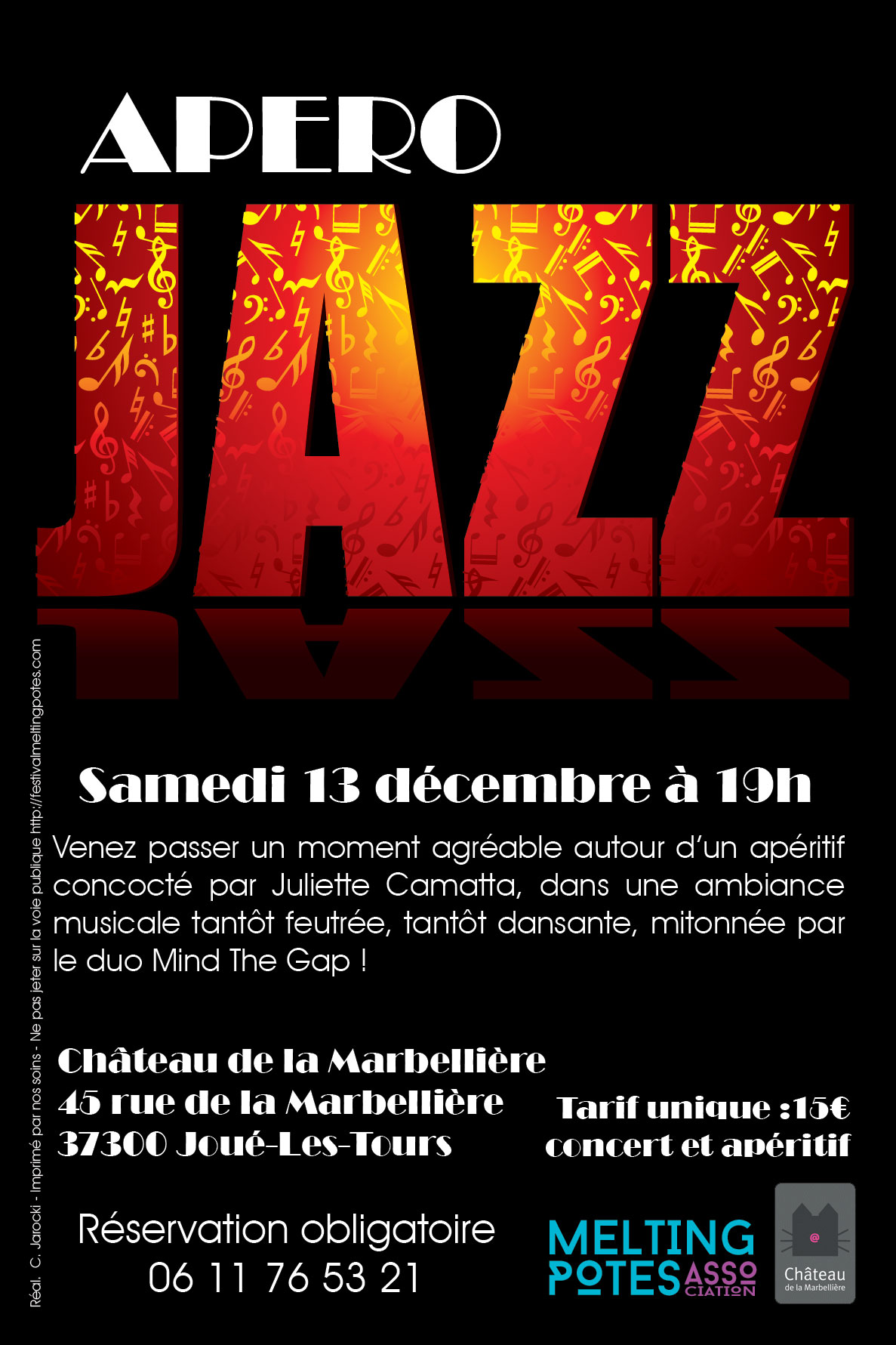 Flyer Apéro Jazz